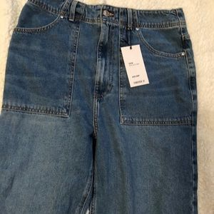 Forever 21 cropped flare jeans